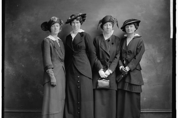 Suffrage Four Women