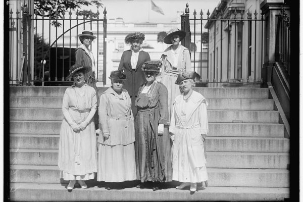 Suffrage Women White House
