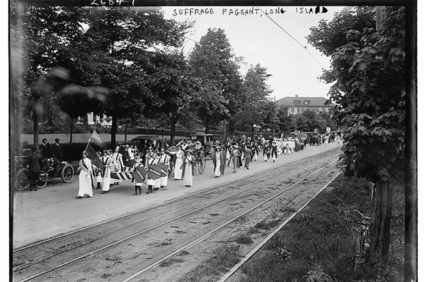 Suffrage Pageant Long Island