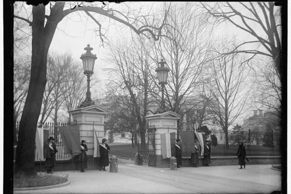 Washington Suffrage Women Gates