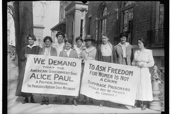 Alice Paul Suffrage Banners