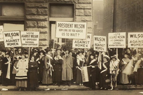 Chicago Suffrage_protest 10_20_1916