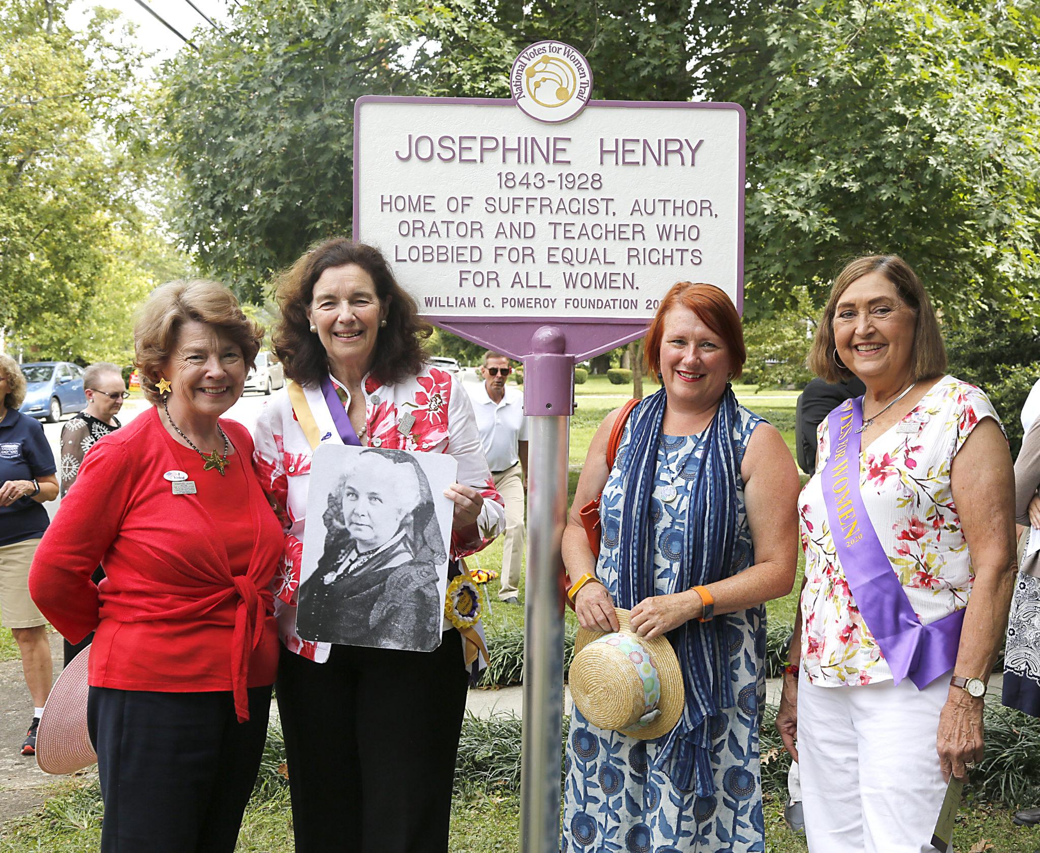 Josephine Henry's Pomeroy Marker Dedication