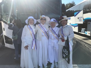 NVWT Walkers in 2020 Rose Parade in Pasadena, CA