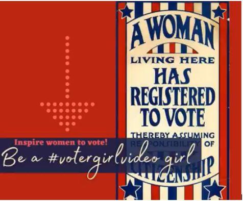 #VoterGirlVideo — Junior Trailblazer Contest Rules