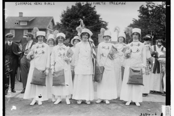 Long Island Suffrage News Girls